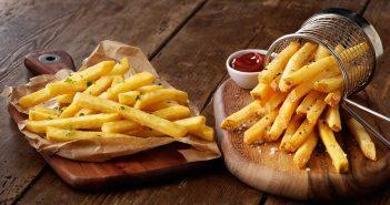 Staycrisp thin skin fries