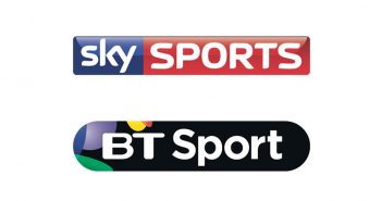 Sky Sports and BT Sports logos