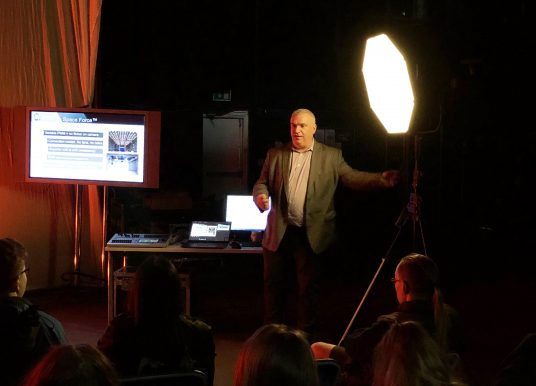 A.C. Entertainment Technologies supports backstage academy
