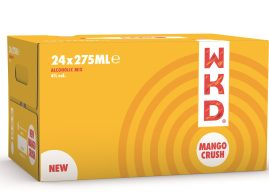 Tropical new flavour range from WKD