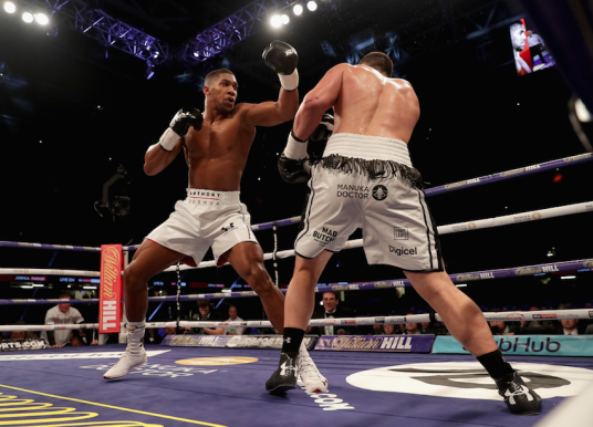 Joshua and Povetkin Collide on Saturday 22nd September