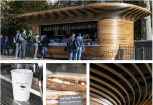 Colicci opens their first kiosk in Green Park