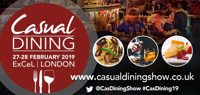 2019 is set to be a record year for Casual Dining Show, as it announces its free Keynote line-up featuring some of the biggest names from the best operators