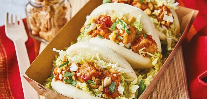 Our 'On the Plate' feature this month features Quorn's Bao Buns with the recipe developed by Mark Robinson