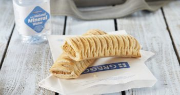 The introduction of a vegan sausage roll to Greggs' range of baked treats.