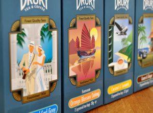Drury Tea & Coffee Company adds four new varieties