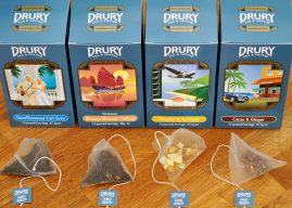 Drury adds four new varieties to its best-selling pyramid teabag range