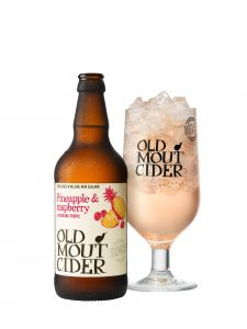 Old Mout is expanding their flavoured cider range - Raspberry & Pineapple
