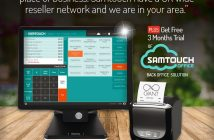 Samtouch POS software offers a high level of features
