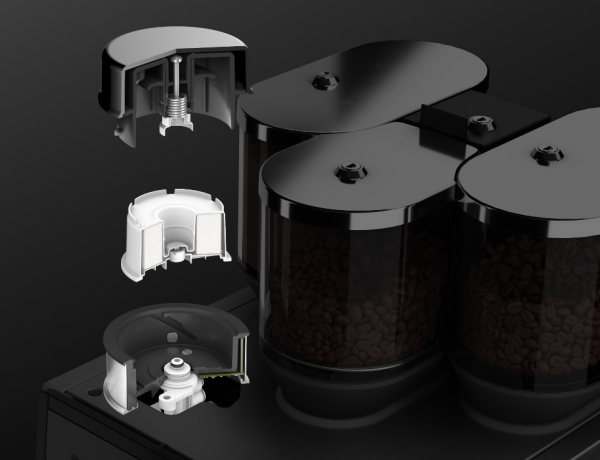 Coffee technology from WMF combines two coffee styles in a single machine
