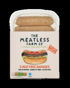 Meat-free sausage