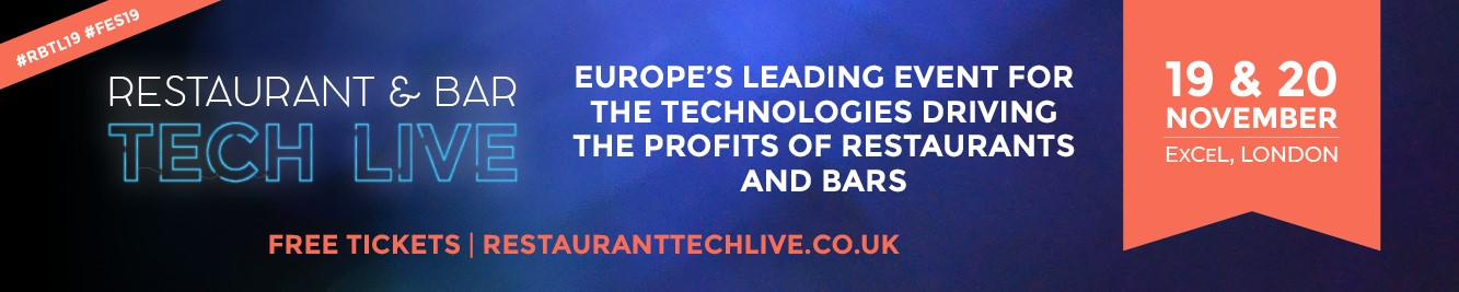 Restaurant & Bar Tech Live Banner