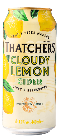 Thatchers Cider has unveiled Cloudy Lemon Cider